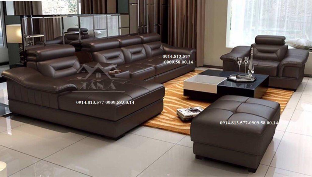 bộ bàn ghế sofa da hàn quốc, sofa phòng khách đẹp hiện đại