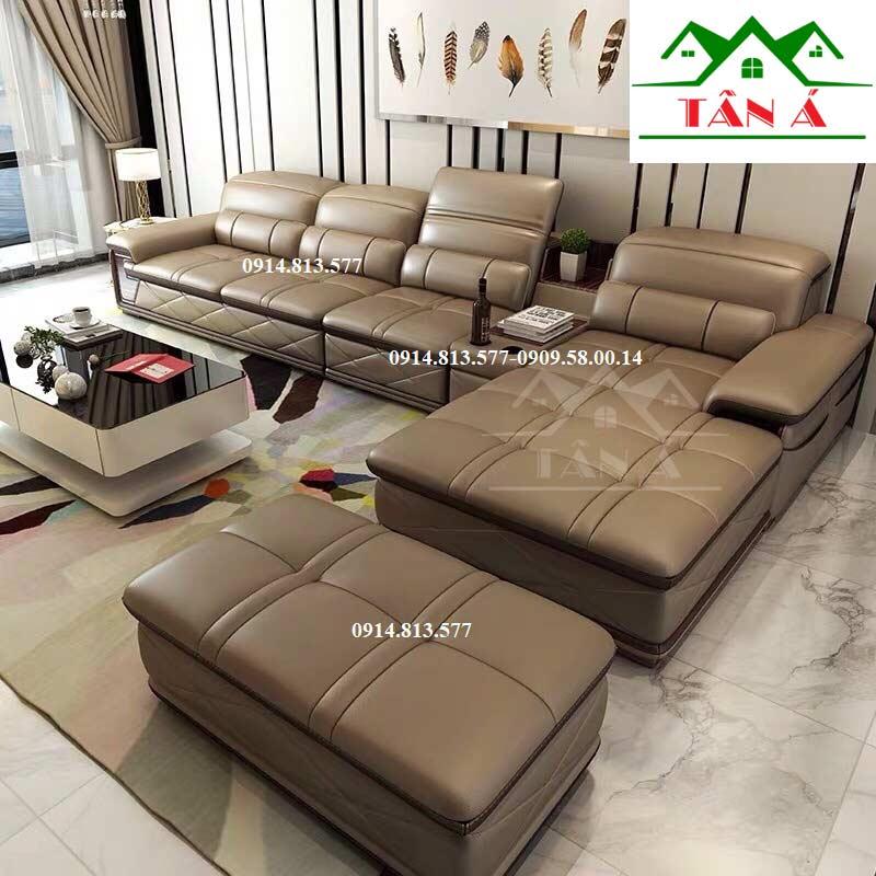 ghế sofa phòng khách cao cấp đẹp hiện đại
