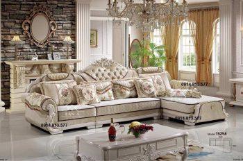 bộ ghế sofa tân cổ điển giá rẻ, sofa tân cổ điển đẹp hàng nhập khẩu