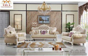 Sofa tân cổ điển giá rẻ, ghế sofa cổ điển đẹp cho phòng khách châu âu