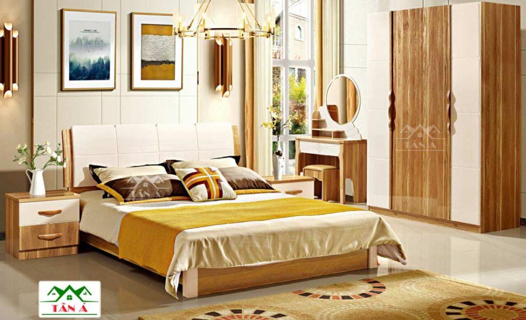 mẫu giường tủ phòng ngủ hiện đại