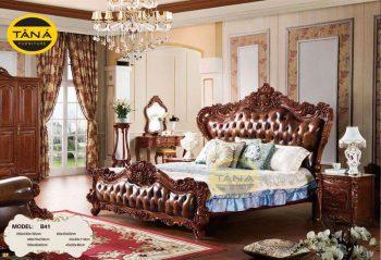 Combo bộ giường tủ nhập khẩu đài loan