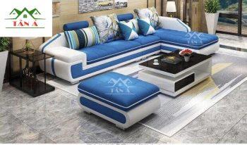 Sofa vải bố giá rẻ, sofa phòng khách chung cư