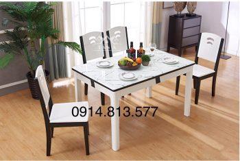 bộ bàn ăn 6 ghế gỗ sồi nga nhập khẩu đài loan