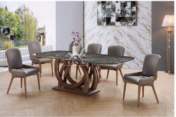 bàn ăn gia đình 6 ghế giá rẻ tphcm