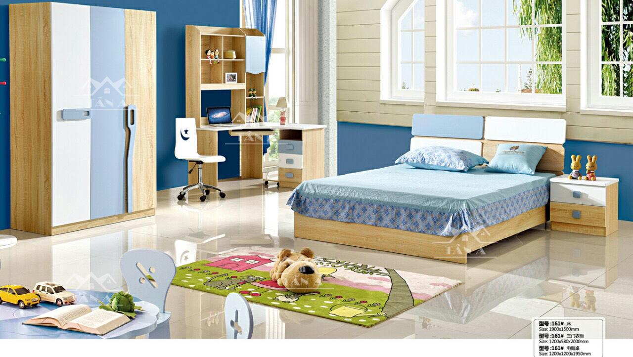combo giường tủ hiện đại cho bé TA-161 nhập khẩu