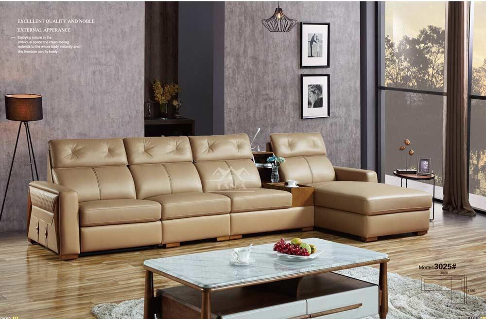 mẫu ghế Sofa da bò nhập khẩu malaysia giá rẻ