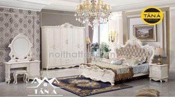 TRọn bộ nội thất phòng ngủ tân cổ điển giá rẻ