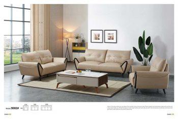 Mẫu ghế sofa da bò thật nhập khẩu từ malaysia giá rẻ
