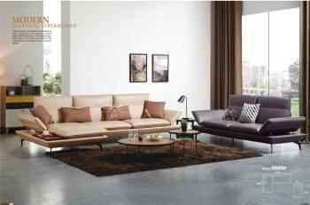 Bộ bàn ghế sofa da bò phòng khách đẹp hiện đại giá rẻ