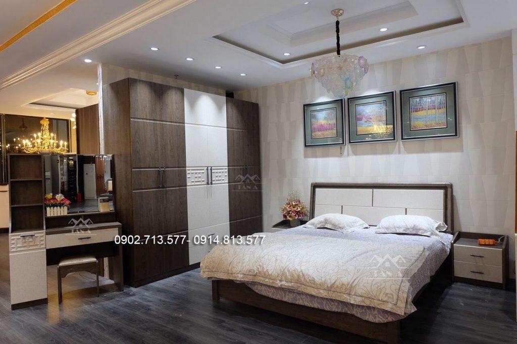 bộ giường ngủ giá rẻ mẫu đẹp hiện đại