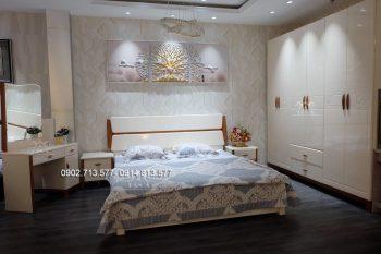 Combo giường tủ bàn phấn trang điểm đẹp hiện đại