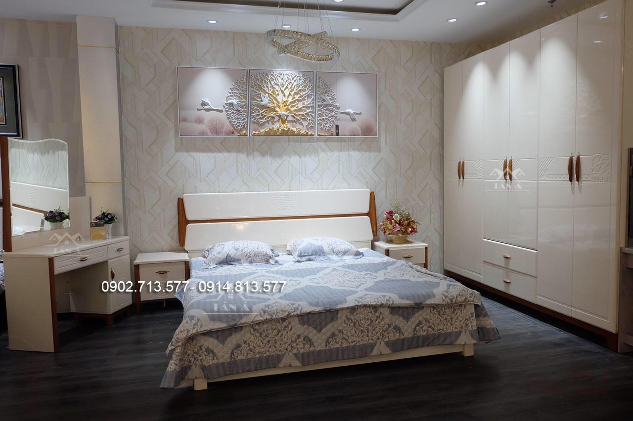 Combo giường tủ hiện đại