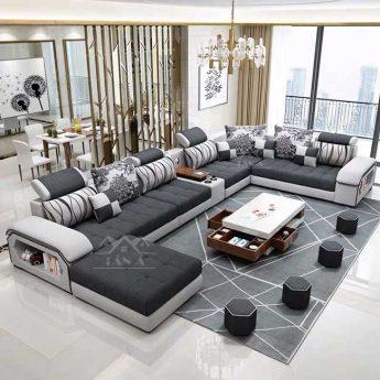 Sofa Vải nỉ bố cao cấp nhập khẩu