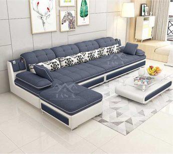 Sofa Vải nỉ bố phòng khách Góc L giá rẻ