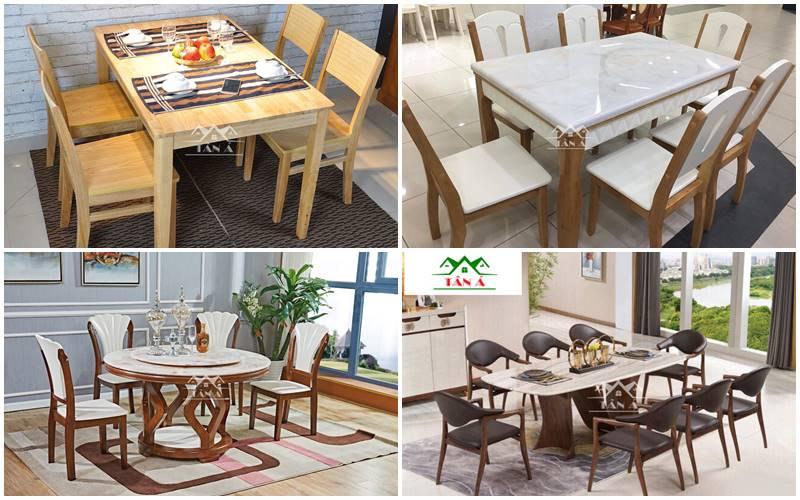 Mua Bộ bàn ăn 4 ghế 6 ghế hay 8 ghế nhập khẩu ở đâu giá rẻ tphcm