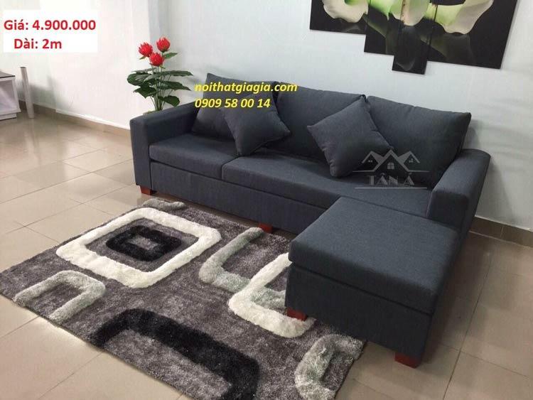 ghế sofa băng văng vải đẹp góc L giá rẻ tại tphcm