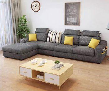 mẫu ghế sofa vải đẹp giá rẻ, sofa vải nỉ bố đẹp nhập khẩu đài loan
