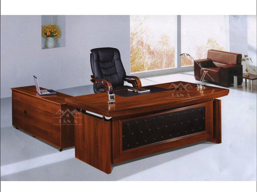 bàn làm việc giám đốc gỗ tự nhiên giá rẻ