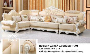 bộ bàn ghế sofa tân cổ điển giá rẻ đẹp hàng nhập khẩu đài loan