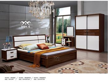 bộ giường cưới giá rẻ, giường tủ hiện đại nhập khẩu đài loan