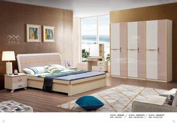 mẫu giường ngủ gỗ tự nhiên đẹp hiện đại
