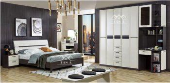 Bộ giường tủ đẹp giá rẻ, giường ngủ hiện đại giá rẻ tại tphcm, bàn phấn trang điểm đẹp nhập khẩu đài loan