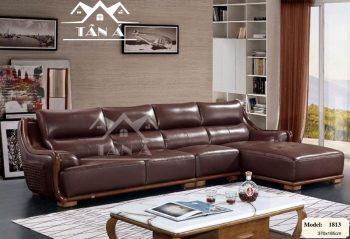 ghế sofa da bò nhập khẩu malaysia, sofa phòng khách cao cấp góc L đẹp hiện đại