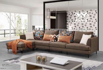 ghế sofa vải nỉ bố nhập khẩu giá rẻ, sofa phòng khách đẹp hiện đại