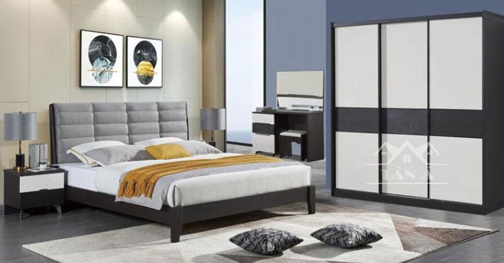mẫu giường đẹp hiện đại nhập khẩu đài loan, giường ngủ gỗ công nghiệp gỗ sồi