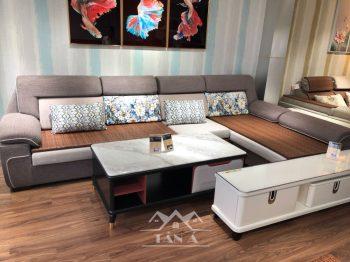 ghế sofa vải nỉ bố đẹp giả da nhập khẩu đài loan Malaysia italia Châu âu