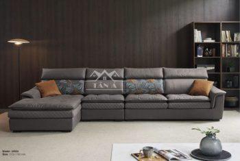 Mẫu ghế sofa vải giả da siêu đẹp siêu sang trọng