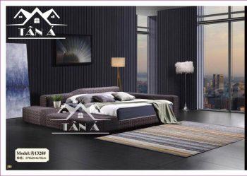 Giường ngủ bọc da cao cấp, giường ngủ đẹp hiện đại nhập khẩu đài loan