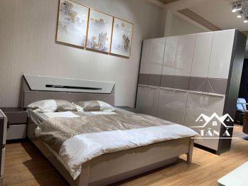 Bộ giường ngủ đẹp hiện đại, giường tủ giá rẻ