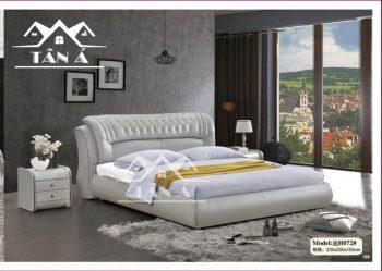 Giá giường ngủ bọc da đẹp hiện đại, giường ngủ giá rẻ
