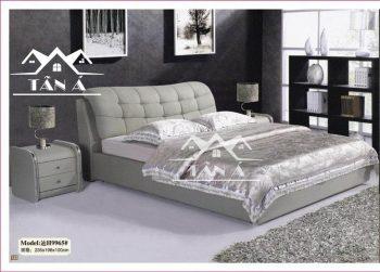 mẫu giường ngủ bọc da đẹp hiện đại, giường ngủ giá rẻ