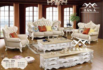 sofa tân cổ điển đơn giản mà đẹp