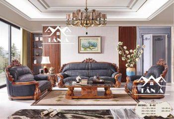 ghế sofa da bò ý, sofa nhập khẩu cao cấp italia, đài loan