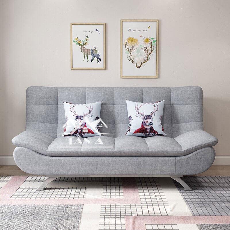 ghế sofa giường giá rẻ, sofa phòng khách chung cư nhỏ gọn