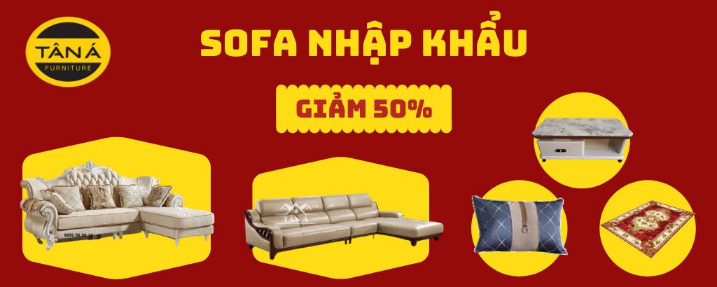 khuyến mãi sofa tân cổ điển nhập khẩu
