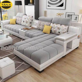 Ghế sofa vải góc L giá rẻ tại tphcm
