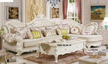 Ghế sofa tân cổ điển đơn giản giá rẻ