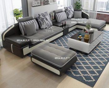 sofa vải nỉ bố giá rẻ