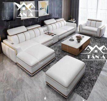 Sofa Da Hàn Quốc N33-D góc L
