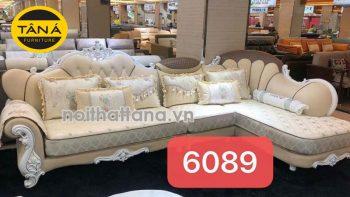 ghế sofa vải nỉ tân cổ điển nhập khẩu đài loan
