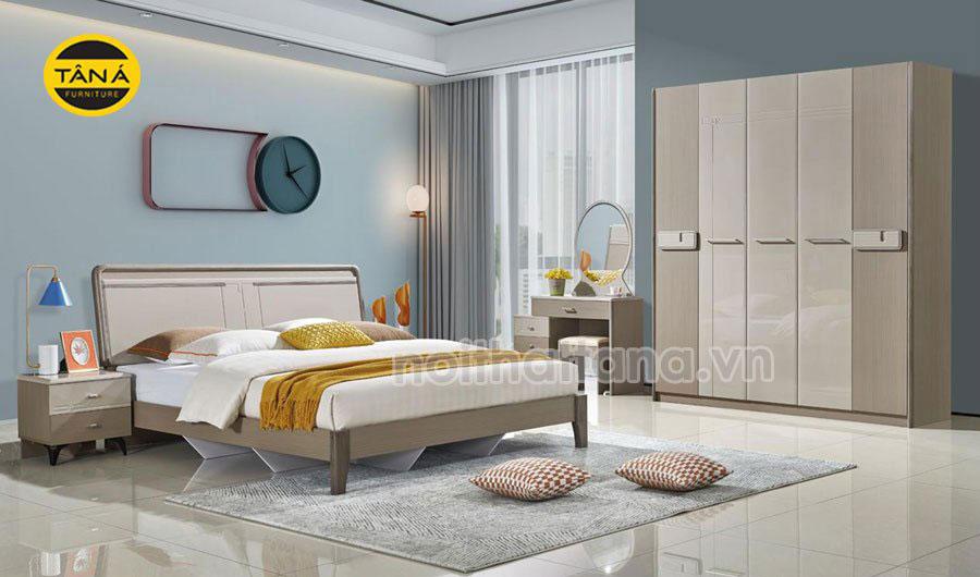 Bộ giường ngủ hiện đại giá rẻ đẹp tại tphcm