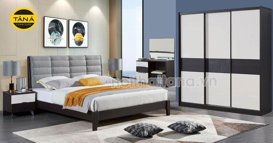 Bộ combo giường tủ hiện đại cao cấp giá rẻ tphcm