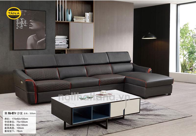 Ghế sofa da bò nhập khẩu Malaysia