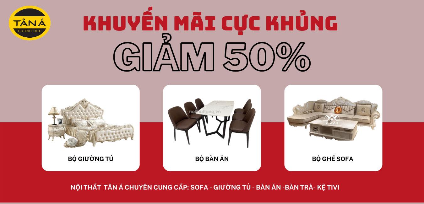 Sofa khuyến mãi tết, chương trình khuyến mãi nội thất cuối năm